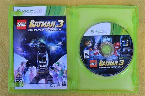 Lego es una saga de videojuegos con títulos en nuestra base de datos desde 1999 y que actualmente cuenta con un total de 84 juegos para ps5, xbox series x/s, switch, android, xbox one, ps4, wii u, iphone, psvita, nintendo 3ds, ps3, wii, psp, nds, xbox 360, gamecube, xbox. Lego Batman 3 Beyond Gotham Xbox 360* Play Magic - $ 250 ...