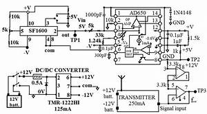 Circuit Diagram Of Accelerometer Transmitter Board