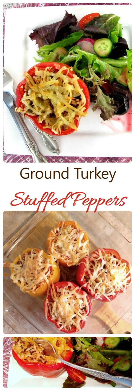 mom s ground turkey and peppers recipe dishmaps