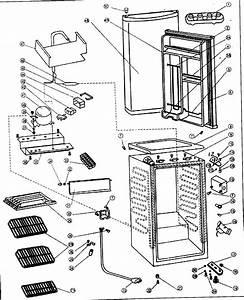 Danby Dcr34bl Compact Refrigerator Parts