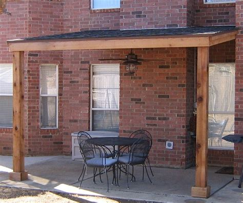 how to build a patio cover attached to house attached shingled patio cover base model no trims