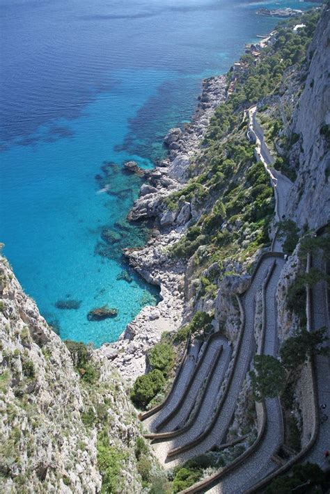 Isle Of Capri Italyincredibly Beautiful If You Get To