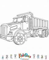 Dump Coloring Truck Trucks Kidspressmagazine Sketch Drawing Template Colouring Wars Empty Suitcase Drawings Cars Vehicles Semi Preschool sketch template