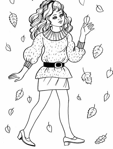 Free Coloring Pages For Girls Coloring Home