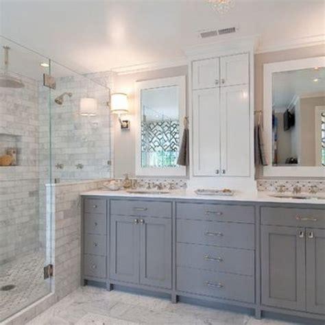 Gray And White Bathroom Ideas  New Interior Exterior