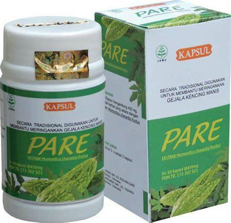 obat diabetes kencing manis alami herbal pare tazakka