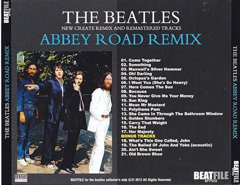 beatles cd abbey road remix