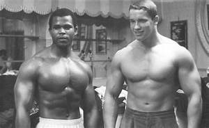 WOW SERGE VS ARNOLD PIC WHEN THEY WHERE YOUNG!!