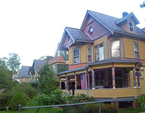 houses plans file houses in fort hill neighborhood peekskill ny jpg
