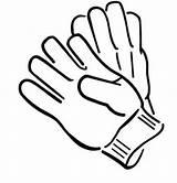 Gloves Coloring Winter Pair Clothing Glove Medical Boxing Colouring Drawing Clipart Sheets Clip Season Cliparts Draw Sheet Baseball Sky Adventure sketch template