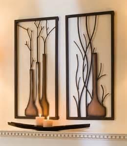 designer wandbilder wandbilder quot vase quot metall 2 teiliges set 40 x 80 cm