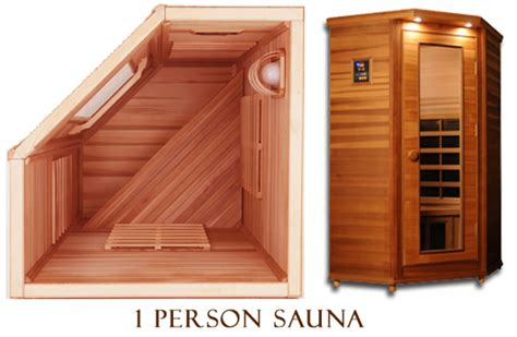mini sauna 1 person clearlight premier is c cedar infrared sauna 1 person