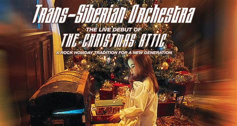 trans siberian orchestra debuts  christmas attic