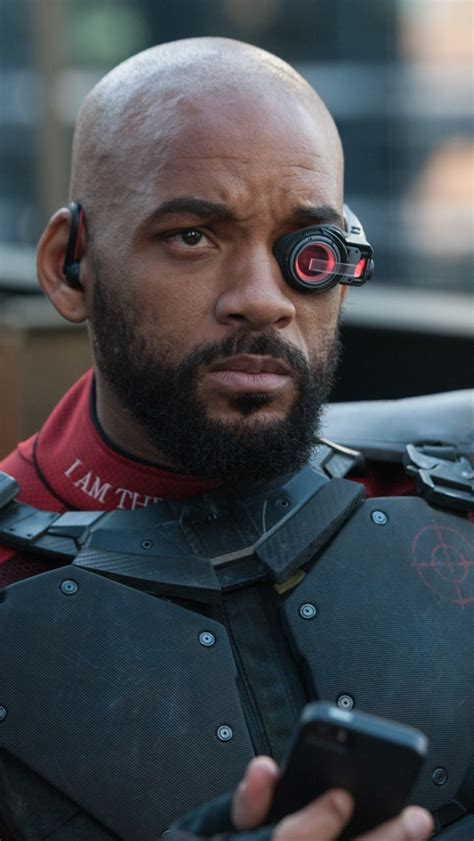 wallpaper deadshot  smith suicide squad  movies