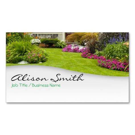 best 138 landscaping business cards images on