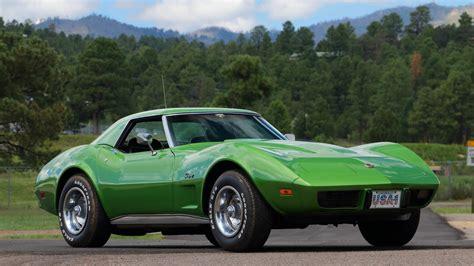 1975, Chevrolet, Corvette, c3 , Convertible, Green ...