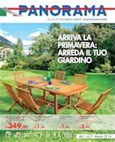 """Panorama """"Arreda il tuo giardino"""" Volantinoweb"""