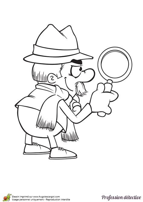 douce cuisine coloriage d un détective privé à la façon de sherlock