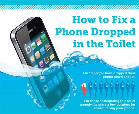 how to fix a phone that fell into a toilet memolition