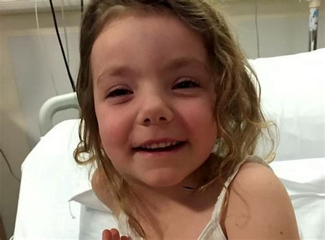 what is the rarest form of leukemia brave little girl puts on a smile despite fighting the