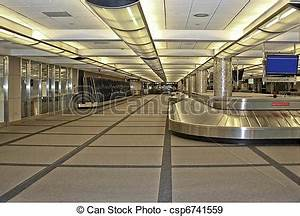 Stock Photographs of Airport Baggage Claim - Empty Airport ...