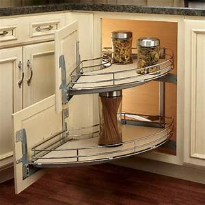 "Rev-A-Shelf ''The Curve"" Luxury Kitchen Blind Corner Unit"