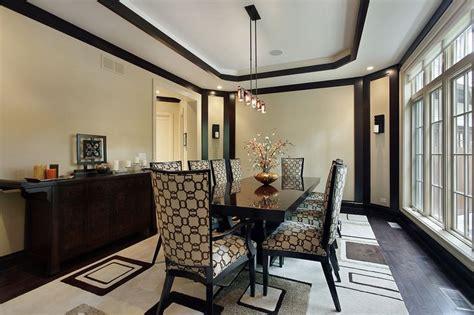 126 Custom Luxury Dining Room Interior Designs Dark