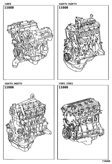 Partial Engine Assembly for 2015 - 2018 Toyota HILUX