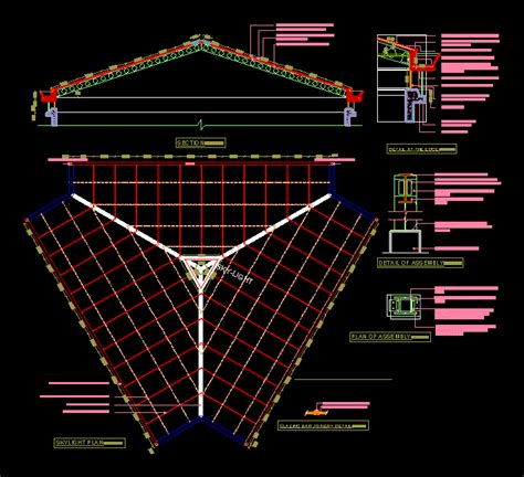 Skylight Detail DWG Detail for AutoCAD • Designs CAD