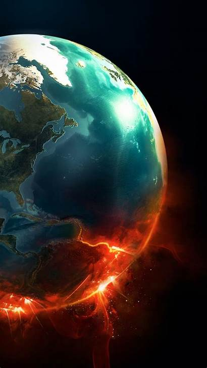 Earth Planet Explosion Android Supernova Desktop Htc