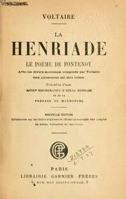 Henriade : définition de HENRIADE , subst. fém.