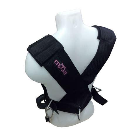 sleigh harness cff pink sled lead harness