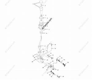 Polaris Atv 1999 Oem Parts Diagram For Gear Selector