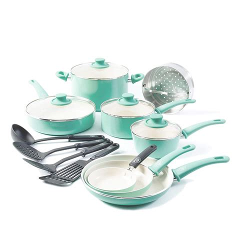 kutime nonstick ceramic cookware set  piece