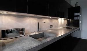 Arbeitsplatte Küche Beton : material raum form ihre betonm bel und betonarbeitsplatte ~ Sanjose-hotels-ca.com Haus und Dekorationen