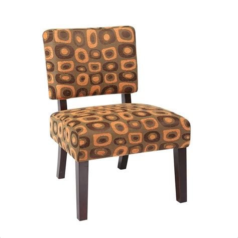 avenue six accent chair in twilight rust