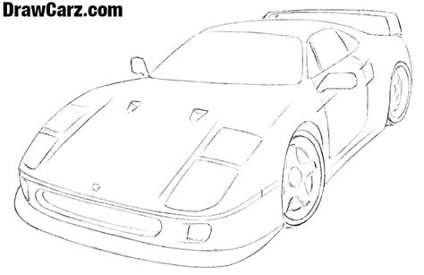 Image result for simple creative drawing designs creative ferrari logo high resolution 179 with images ferrari logo How to Draw a Ferrari Easy