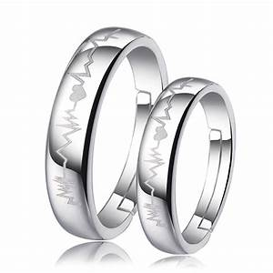 Couple Rings Matching His And Hers Promise Rings For