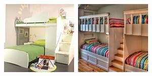 idee deco chambre la chambre enfant partagee With amenagement chambre d enfant