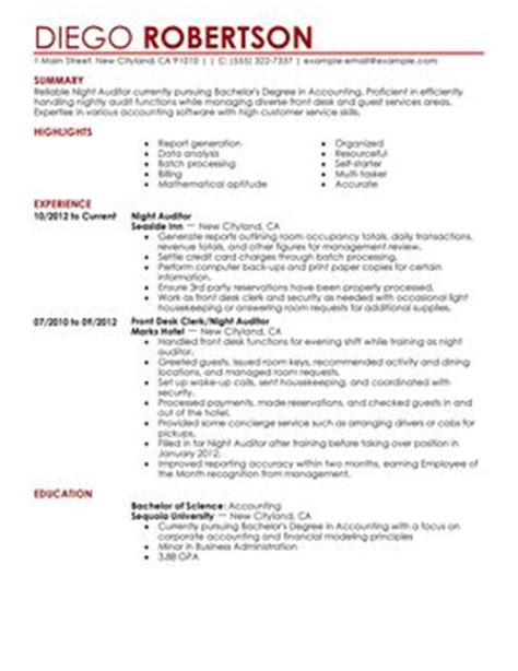 Best Resume Format For Hotel Industry by Impactful Professional Hotel Hospitality Resume Exles