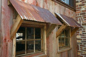 galvanized decor ideas metal awning shed window awnings