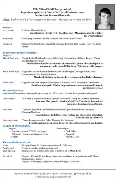 De Cv En Francais Word by Curriculum Vitae Word Francais Lusocarrelage