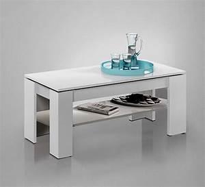 Table Basse Relevable Blanche : table basse relevable gozo blanc brillant ~ Teatrodelosmanantiales.com Idées de Décoration