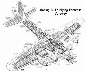 modify the b 17 into night bomber low altatude streak bomber With airplane diagrams