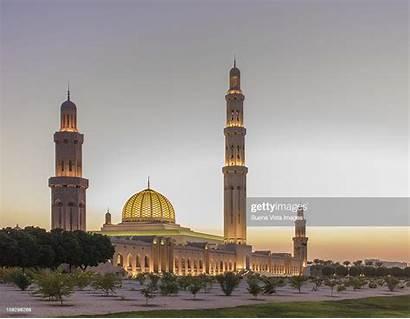 Mosque Sultan Qaboos Muscat Grand