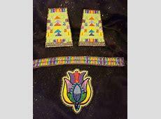 Native American Beaded Set Powwow Regalia eBay find of