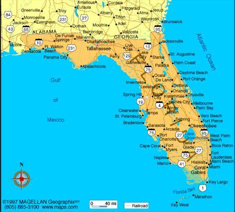 florida map infoplease
