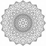 Mandala Coloring Mandalas Adults Complex Printable Colorear Calming Adult Simple Patterns Adultos Colorare Coloriage Soothing Adulti Erwachsene Malbuch Fur Disegni sketch template