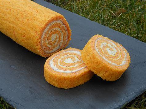 recette de cuisine thermomix roulé carotte jambon et fromage frais cooking chef de