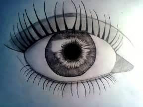 Simple Easy Eye Drawings